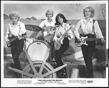 GIRLS ON THE BEACH - 1965 Orig 8x10 Glossy Still - stars THE CRICKETS!! - Divas!