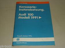 Werkstatthandbuch Audi Karosserie Instandsetzung 100 C4 ab 1991