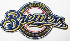 LOT 0F (1) MLB MILWAUKEE BREWERS EMBROIDERED BASEBALL PATCH ITEM # 61