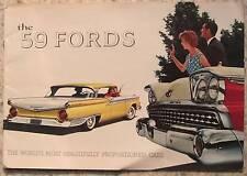 FORD Custom 300 Fairline ++ USA Car Brochure 1953 #4159