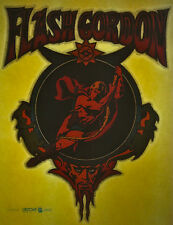 flash gordon scifi fantasy 80s vintage retro tshirt print, NOS
