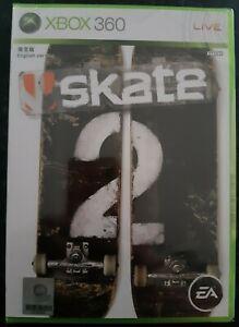 Skate 2 Japanese Xbox 360 English Text Version Brand New Sealed