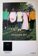 Passion Pit *Manners* Chunk of Change Promo Tour Poster Rare Gossamer
