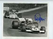 Clay Regazzoni Ferrari 312 B South African GP 1971 Signed Press Photograph 1