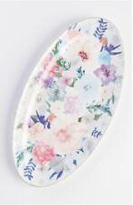 "NEW ANTHROPOLOGIE Jioletta Floral Serving Platter (7.75"" x 15"")"