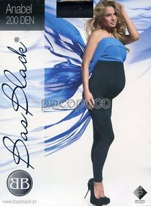 Leggings Maternity 200 Den Bas Blach Art. Anabel