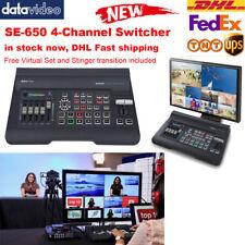 Datavideo SE-650 4-Channel HDMI SDI Virtual Set FTB 1080PVideo edit Switcher