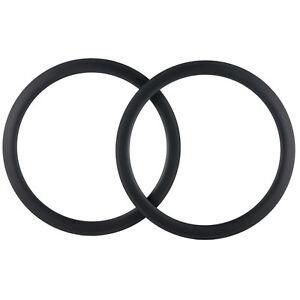 700C 50mm Depth Carbon Rims One pair Road Bike Rim Basalt Brake Line Bicycle Rim