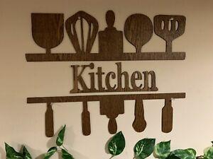 Elegant Wood Sign  for Kitchen Wall Decoration