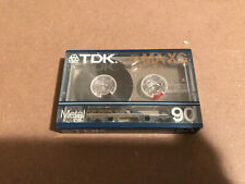 One New Sealed TDK MA-XG 90 Metal Type IV Cassettes Tapes Made In Japan