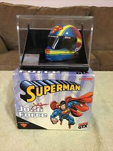 1999 Action JOHN FORCE Castrol GTX Superman NHRA 1/4 Scale Race Helmet