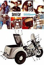 1970 HARLEY-DAVIDSON GE 750 SERVI-CAR MOTORCYCLE OWNERS MANUAL -GE750 SERVICAR