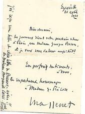 LE COMPOSITEUR JULES MASSENET EN 1921 D'EGREVILLE