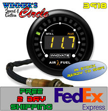 Innovate Mtrspt 3918 Digital A/F Ratio Gauge Kit 8 FT Cable w Free 2 Day Fed-Ex