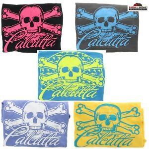 Women's Calcutta Logo Tee ~ Skull ~ 100% Cotton T-Shirt ~ NEW