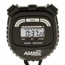 NEW MARATHON Adanac 3000 Digital Stopwatch Timer 10 Pack  Black FREE SHIPPING