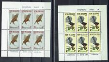 NEW ZEALAND 1965 HEALTH BIRDS MINIATURE SHEET SET MNH **