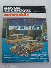 Revue technique automobile RTA 471 1986 Renault 21 1721 cm3 berline & nevada