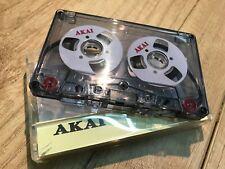 AKAI Audio Tape weiß Handmade Reel to Reel Cassette Kassetten Bänder