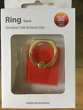 1 FINGER RING STAND HOLDER FOR IPHONE/ANDROID 4 COLORS
