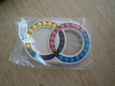 HUNGARIAN DOUBLE RINGS - Vintage Retro Puzzle  80s Brain Teaser game bag pack