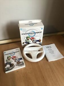 Mario Kart with Wii Wheel (Wii) Boxed