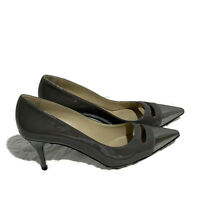 Stella McCartney Women's Size 38 Patent Pointed Toe  Low Heel Pumps