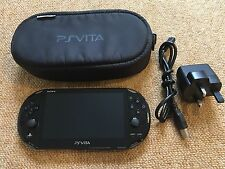 Sony PS Playstation Vita Black Slim Lite Console Wifi Ver 3.60 (PCH-2003) - #04