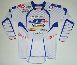 Mike ALESSI Motocross SIGNED Jersey JT RACING Autographed MX Supercross Mens SM