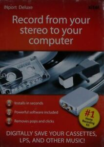 XiteI port Deluxe Software Record From Your Stereo To Your Computer New Sealed