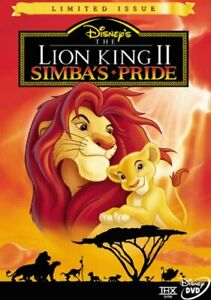 Brand New Disney DVD The Lion King II: Simba's Pride (Limited Issue) 1999