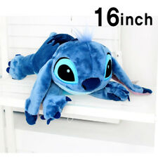 BNWT Soft 16inch Large Stitch Plush Toy Cushion Bed Body Pillow Decoration 400mm