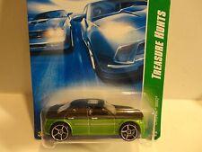 2008 Hot Wheels Treasure Hunt #161 Green Chrysler 300C w/OH 5 Spoke Wheels
