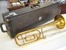 Good KING model 4B-F professional large bore trombone with F-attachment