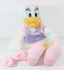 "18"" Daisy Duck Plush Stuffed Animal Disneyland Walt Disney World Toy Doll White"