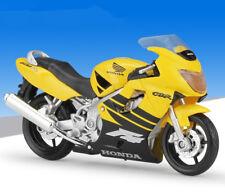 1:18 Maisto HONDA CBR 600F4 Motorcycle Bike Model Toy Yellow New in Box