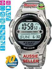 AUSSIE SELLER CASIO GENTS WATCH W-756D-1AV W756D W756 SOCCER 12-MONTH WARRANTY