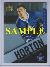 2015-16 UPPER DECK TIM HORTONS BASE, TEAM SETS, INSERTS, & PACKS - Choose