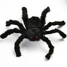 50cm Spider Halloween Decoration Haunted House Prop Indoor Outdoor Black Giant