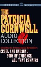 Patricia Cornwell 3 book set  Cruel & Unusual Body of evidence All that Remains