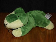 TESCO CROCODILE SOFT TOY GREEN ALLIGATOR COMFORTER CROC