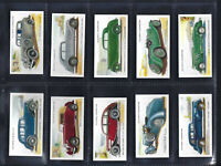 PLAYER - MOTOR CARS, SECOND - FULL SET OF 50 CARDS