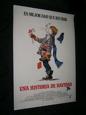 Original Advance CHRISTMAS STORY British Printed for Spanish Countries on Linen