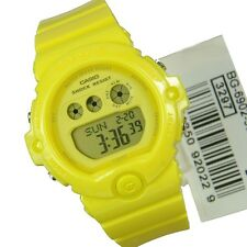 BG-6902-9D Yellow Genuine Casio Baby-G Watch  Resin Band Mineral Glass 200M WR