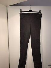 Sehr Schöne Damen Treggins Jeans Hose Leggins Waschung Grau Schwarz Gr. 40 H&M