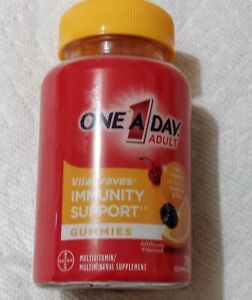 One-A-Day VitaCraves Immunity Support Multivitamin Gummies 70 Count, Adult