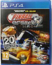 The Pinball Arcade Season 2. Ps4. Fisico.