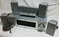 RCA Home Theatre  Surround Sound System | 5 Speakers | RT2760 5.1 Channel
