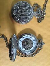 Analoge mechanisch - (automatische) Taschenuhren aus Silber