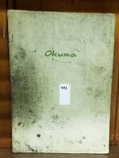 OKUMA LSN DC ELECTRICAL CIRCUIT DIAGRAM MANUAL